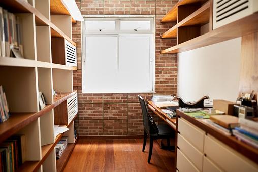Waiting「Small home office」:スマホ壁紙(2)