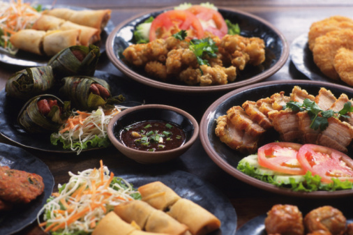 Hungry「Delicious Chinese cuisine served on the table」:スマホ壁紙(11)