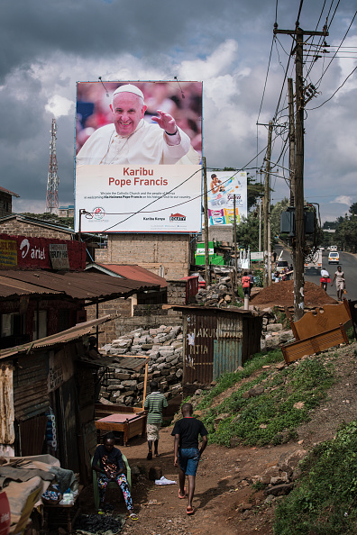 Nichole Sobecki「Final Preparations Are Made For The Arrival Of Pope Francis To Kenya」:写真・画像(3)[壁紙.com]
