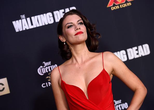"""Lauren Cohan「AMC Celebrates The Season 5 Premiere Of """"The Walking Dead"""" - Arrivals」:写真・画像(5)[壁紙.com]"""