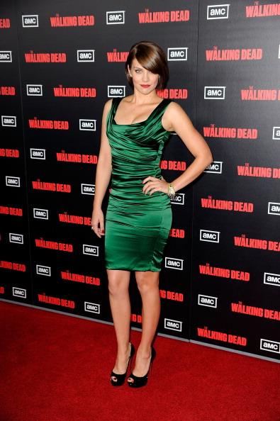 "Lauren Cohan「Premiere Of AMC's ""The Walking Dead"" 2nd Season - Arrivals」:写真・画像(15)[壁紙.com]"