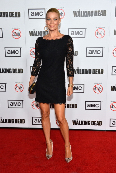 "Scalloped - Pattern「Premiere Of AMC's ""The Walking Dead"" 3rd Season - Arrivals」:写真・画像(14)[壁紙.com]"