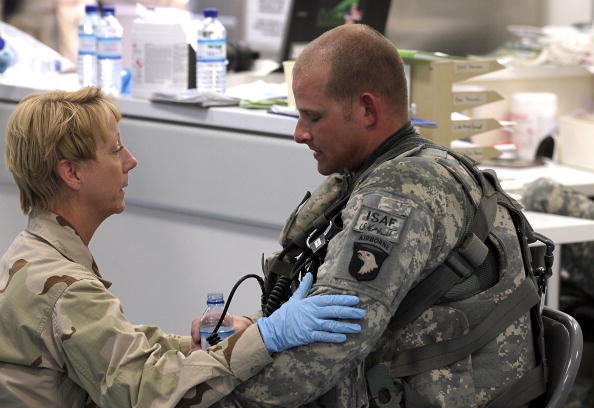Human Role「Medical Teams Treat Wounded At New Kandahar Military Hospital」:写真・画像(18)[壁紙.com]