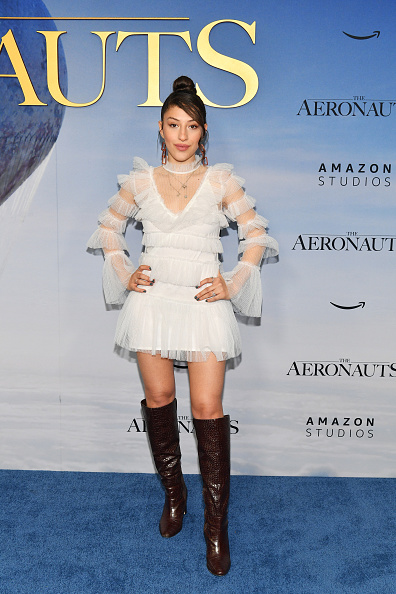"Leather Boot「""The Aeronauts"" New York Premiere」:写真・画像(8)[壁紙.com]"