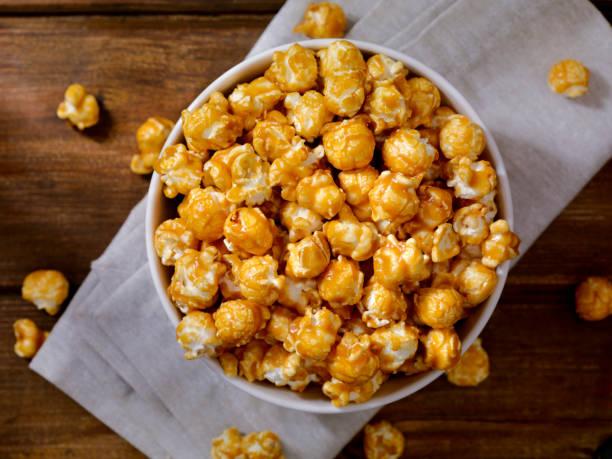 Caramel Popcorn:スマホ壁紙(壁紙.com)