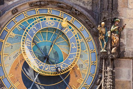 時計「Astronomical clock of the Old Town Hall in Prague」:スマホ壁紙(19)