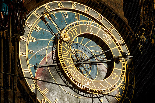 Gothic Style「Astronomical Clock, Old City Square, Prague」:スマホ壁紙(17)