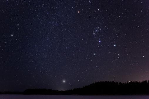 star sky「冬の星」:スマホ壁紙(10)