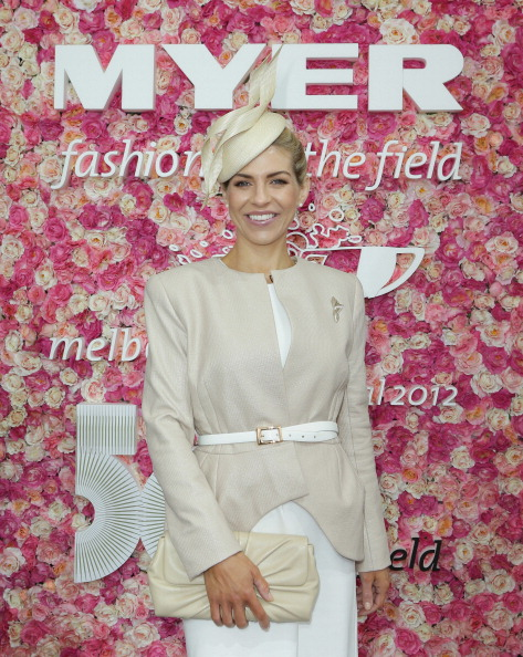 Cream Colored Hat「2012 Melbourne Cup Carnival: Myer Fashions On The Field Enclosure Launch」:写真・画像(16)[壁紙.com]