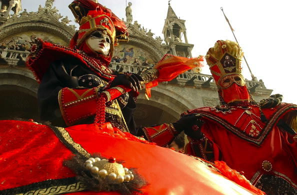 Venice Carnival「People Celebrate Venice Carnival In Italy」:写真・画像(3)[壁紙.com]