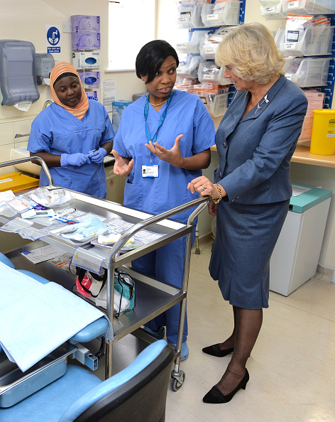 Brightly Lit「Duchess Of Cornwall Undertakes Visits To Highlight The Issues Of Rape And Sexual Abuse」:写真・画像(5)[壁紙.com]