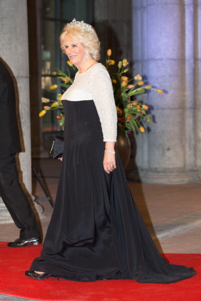 Evening Gown「Queen Beatrix Of The Netherlands Hosts A Dinner Ahead Of Her Abdication」:写真・画像(18)[壁紙.com]