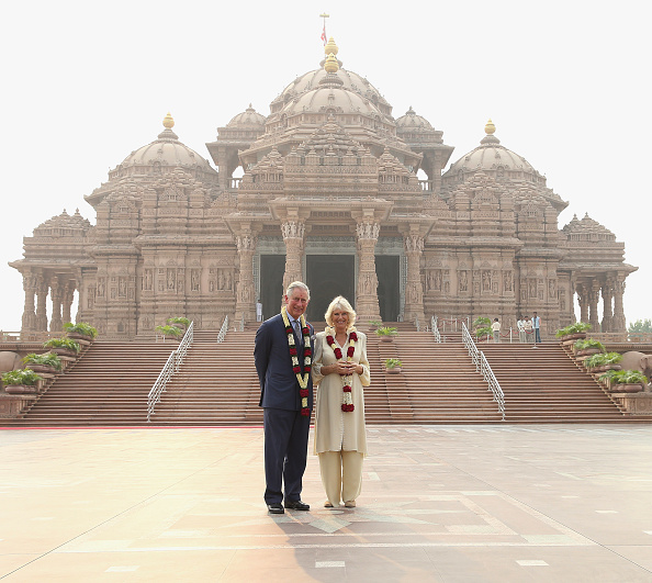 Delhi「The Prince Of Wales And Duchess Of Cornwall Visit India - Day 3」:写真・画像(11)[壁紙.com]