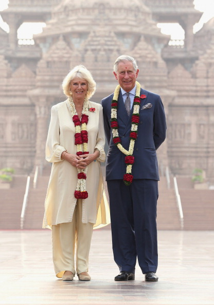 Bindi「The Prince Of Wales And Duchess Of Cornwall Visit India - Day 3」:写真・画像(11)[壁紙.com]