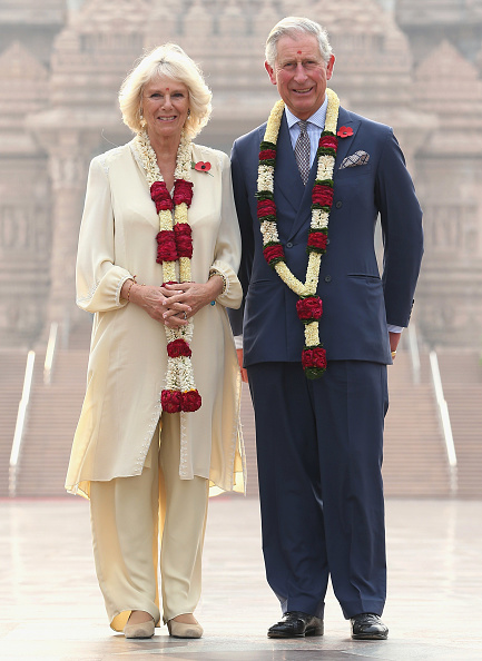Delhi「The Prince Of Wales And Duchess Of Cornwall Visit India - Day 3」:写真・画像(0)[壁紙.com]