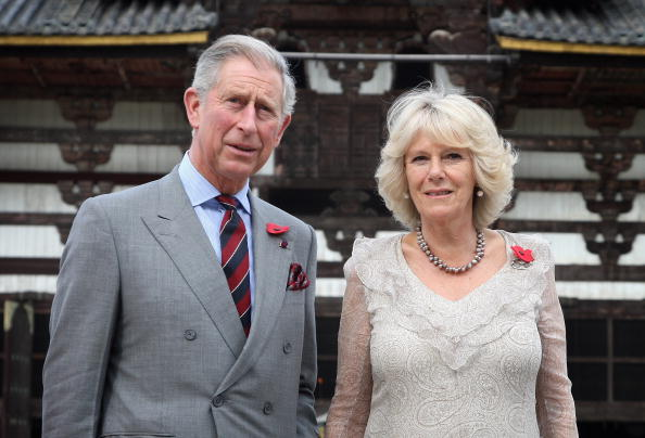 東大寺「Prince Charles And Duchess Of Cornwall Visit Japan - Day 3」:写真・画像(4)[壁紙.com]
