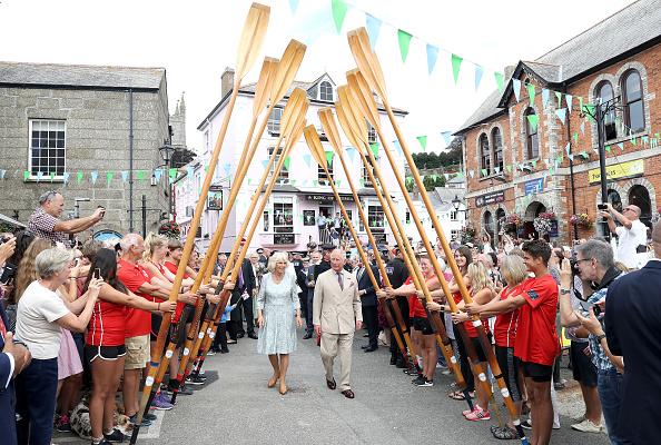 イングランド コーンウォール「The Prince Of Wales & Duchess Of Cornwall Visit Cornwall & Devon - Day 1」:写真・画像(17)[壁紙.com]