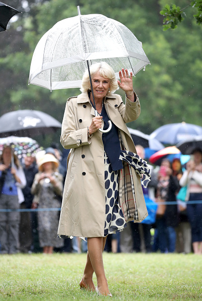 Umbrella「The Prince Of Wales And Duchess of Cornwall Visit Sandringham Flower Show」:写真・画像(5)[壁紙.com]
