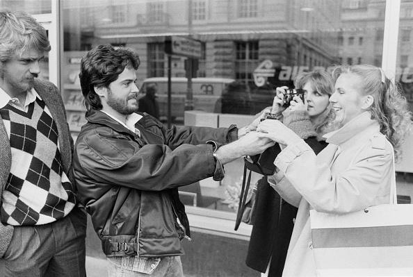 Photographing「Donny Osmond with Fans」:写真・画像(7)[壁紙.com]