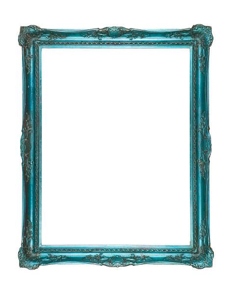 A Psychedelic Blue-Green Frame:スマホ壁紙(壁紙.com)