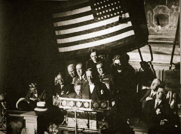 United States Presidential Election「New York Governor Al Smith Accepting The Democratic Nomination For The Presidency 1928」:写真・画像(2)[壁紙.com]