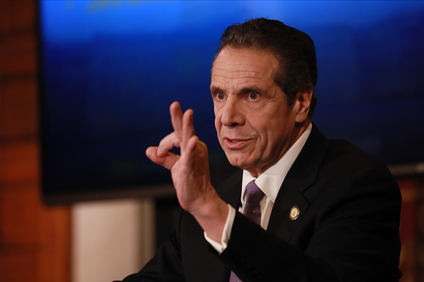 Governor「New York Governor Andrew Cuomo Holds His Daily Coronavirus Briefing In Albany」:写真・画像(15)[壁紙.com]