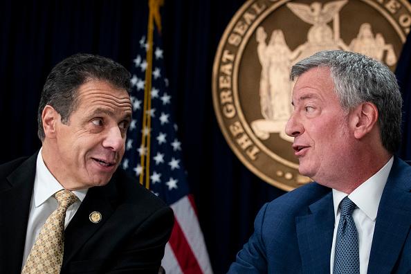 Drew Angerer「NYC Mayor De Blasio And Governor Cuomo Discuss Amazon 2nd Headquarters Decision」:写真・画像(6)[壁紙.com]