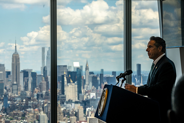 Bestof「New York Governor Cuomo Makes Announcement About City's Reopening At The World Trade Center」:写真・画像(2)[壁紙.com]