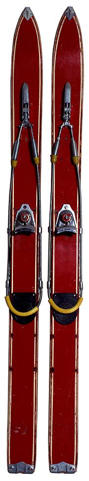 スキー「Old skis」:スマホ壁紙(19)