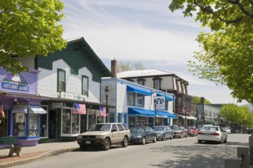 City Street「American small town」:スマホ壁紙(3)