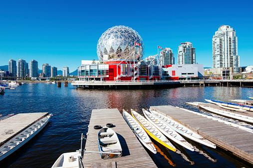 Vancouver - Canada「Vancouver Skyline Canada」:スマホ壁紙(5)