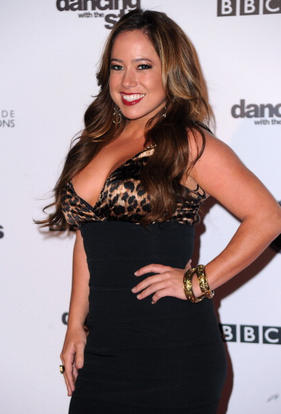 """Sabrina Bryan「ABC's """"Dancing With The Stars"""" 200th Episode Red Carpet」:写真・画像(7)[壁紙.com]"""