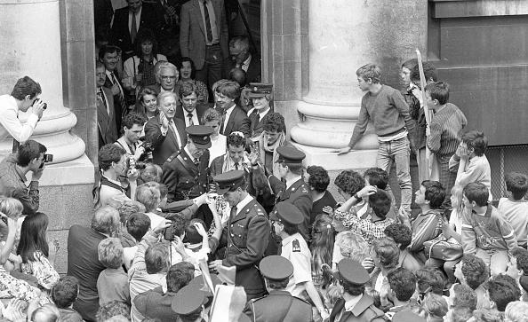 自転車・バイク「Tour de France Winner Stephen Roche at the Mansion House」:写真・画像(11)[壁紙.com]