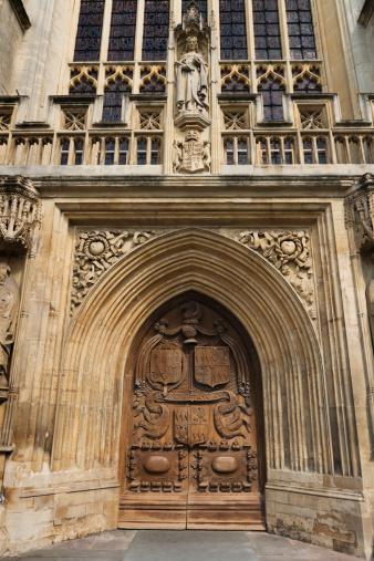 Abbey - Monastery「UK, Somerset, Bath, Entrance to Bath Abbey」:スマホ壁紙(13)
