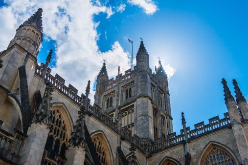 Abbey - Monastery「UK, Somerset, Bath, Bath Abbey」:スマホ壁紙(6)