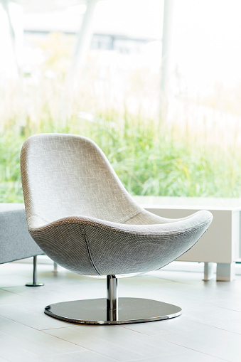 Warsaw「Poland, Warsaw, swivel chair at lounge of hotel」:スマホ壁紙(19)