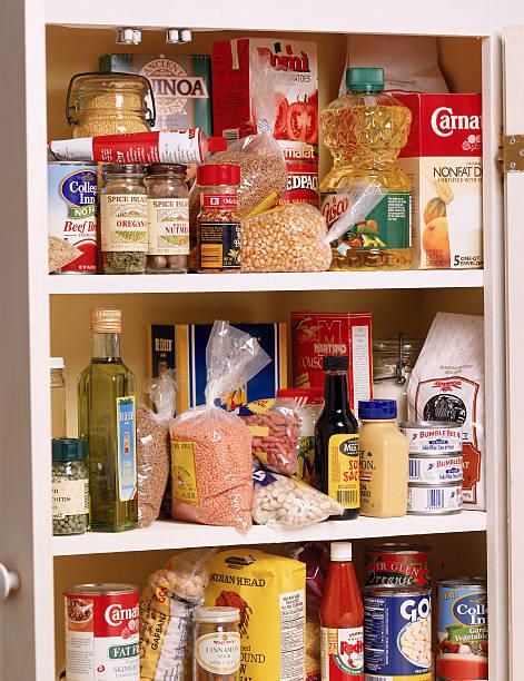 Health food in a pantry:スマホ壁紙(壁紙.com)