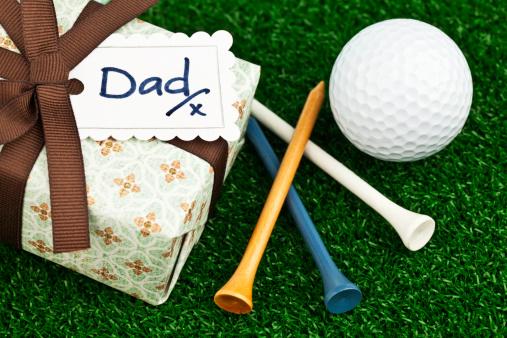 父の日「父の日や誕生日の贈り物にゴルファー」:スマホ壁紙(5)