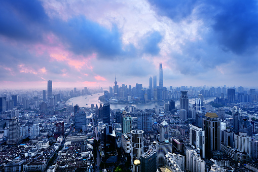 Shanghai「Shanghai Panoramic Skyline」:スマホ壁紙(11)