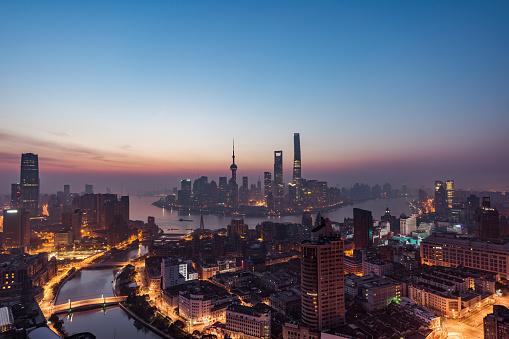 夜「夜明けのパノラマを上海します。」:スマホ壁紙(15)