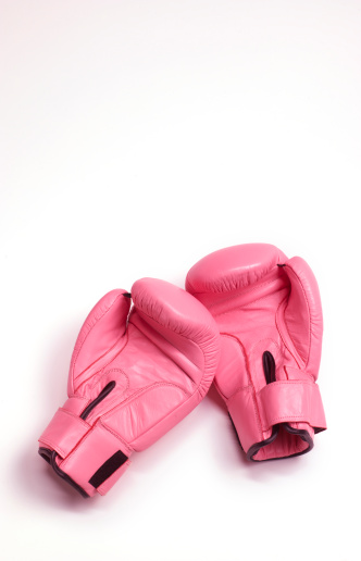 Girly「Pink woman's boxing gloves」:スマホ壁紙(8)