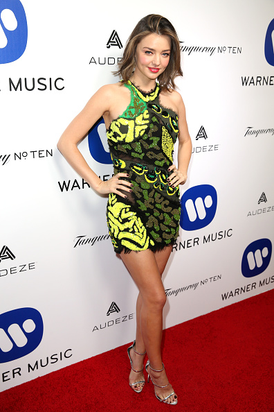 Miranda Kerr「Warner Music Group Hosts Annual Grammy Celebration - Red Carpet」:写真・画像(12)[壁紙.com]