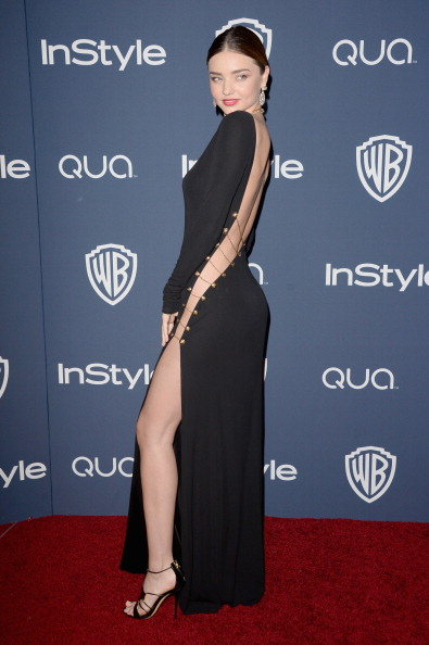 ミランダ・カー「2014 InStyle And Warner Bros. 71st Annual Golden Globe Awards Post-Party - Arrivals」:写真・画像(17)[壁紙.com]