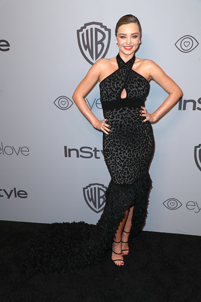 ミランダ・カー「The 2018 InStyle And Warner Bros. 75th Annual Golden Globe Awards Post-Party - Red Carpet」:写真・画像(1)[壁紙.com]