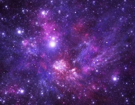 Galaxy「Stars background」:スマホ壁紙(18)