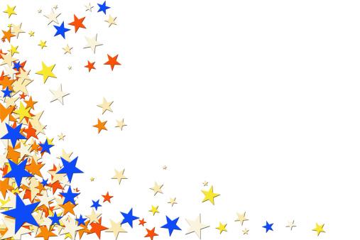お正月「星の背景」:スマホ壁紙(6)