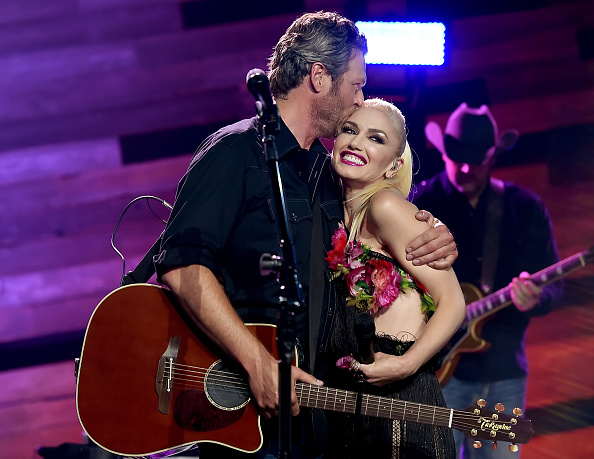 Gwen Stefani「Blake Shelton On The Honda Stage At The iHeartRadio Theater」:写真・画像(0)[壁紙.com]