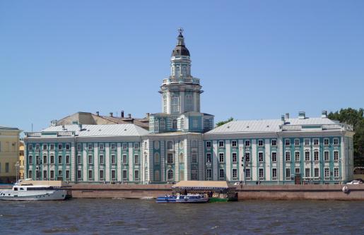 Neva River「Kunstkammer, River Neva, St Petersburg, Russia」:スマホ壁紙(2)