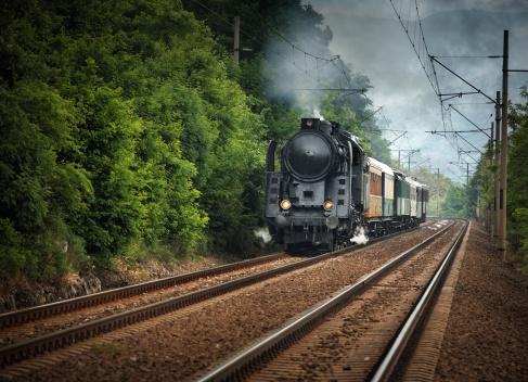 Auto Post Production Filter「old locomotive running somewhere」:スマホ壁紙(4)