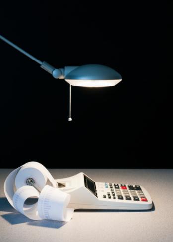Desk Lamp「Light on calculator」:スマホ壁紙(7)